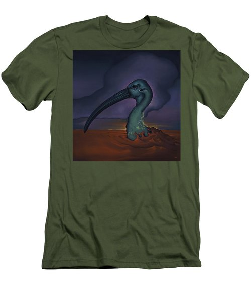Evening And The Hiss Of Sadness Men's T-Shirt (Slim Fit) by Andrew Batcheller