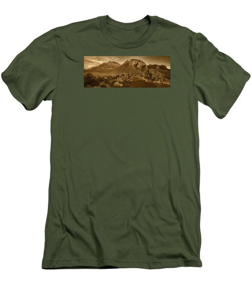 Evening At Dry Creek Vista Tnt Men's T-Shirt (Athletic Fit)
