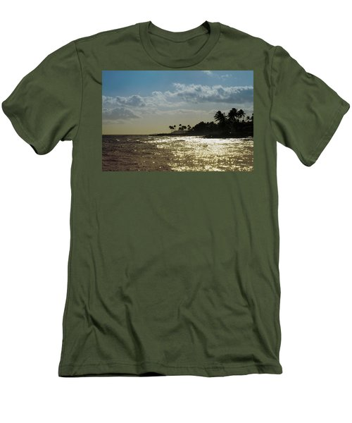Evening At Poipiu Kauai Men's T-Shirt (Athletic Fit)