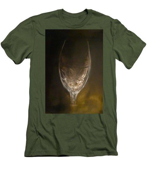 Empty Glass Men's T-Shirt (Athletic Fit)