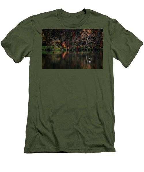 Evening On The Lake Men's T-Shirt (Athletic Fit)
