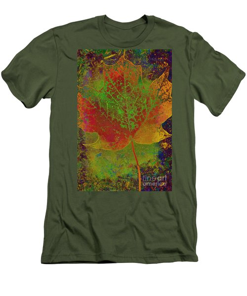 Evolution Of Life Men's T-Shirt (Slim Fit) by Deborah Benoit