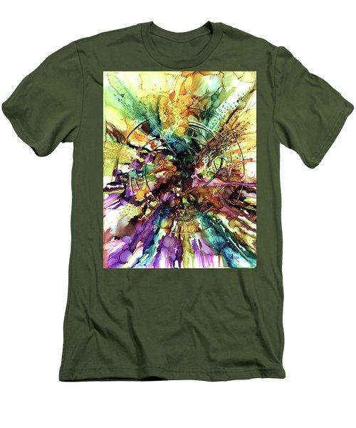 Expanding Universe Men's T-Shirt (Slim Fit) by Alika Kumar