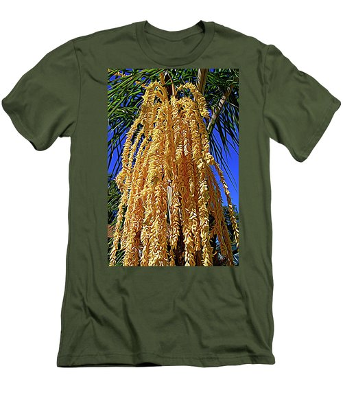 Men's T-Shirt (Athletic Fit) featuring the photograph Expressionalism Cascading Seed Pod by Aimee L Maher Photography and Art Visit ALMGallerydotcom
