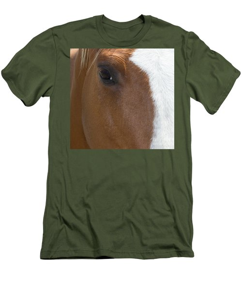 Eye On You Horse Men's T-Shirt (Athletic Fit)