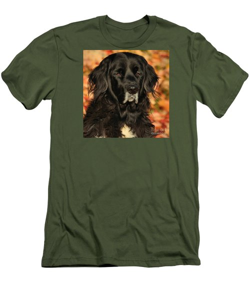 Men's T-Shirt (Slim Fit) featuring the photograph Eyes Of Autumn by Debbie Stahre