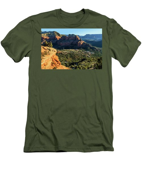 F And B Ridge 07-021 Men's T-Shirt (Slim Fit) by Scott McAllister