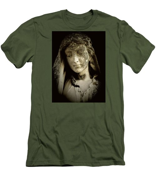 Face Of An Angel 9 Men's T-Shirt (Slim Fit) by Maria Huntley