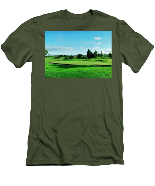 Fairway, Stirling Men's T-Shirt (Slim Fit) by Jan W Faul