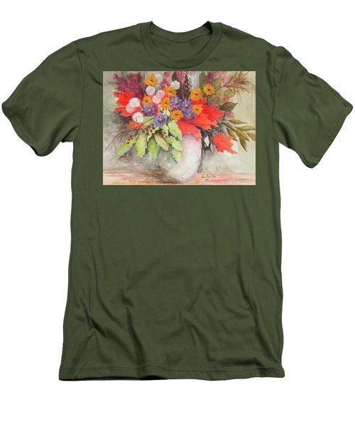 Fall Colors Men's T-Shirt (Athletic Fit)