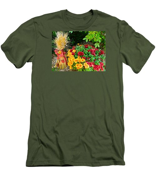 Fall Fantasy Men's T-Shirt (Slim Fit) by Randy Rosenberger
