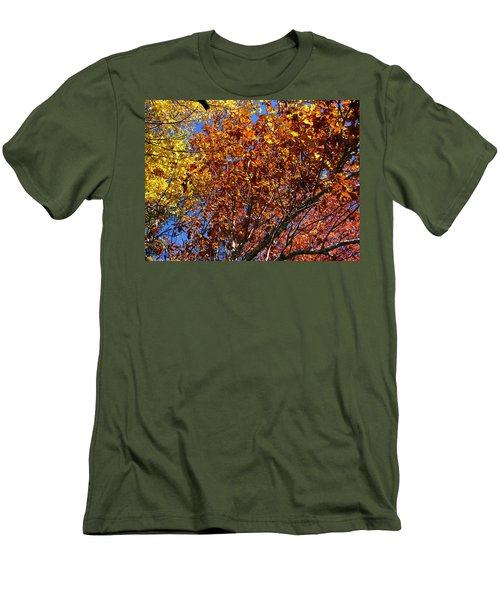 Fall Men's T-Shirt (Slim Fit) by Flavia Westerwelle