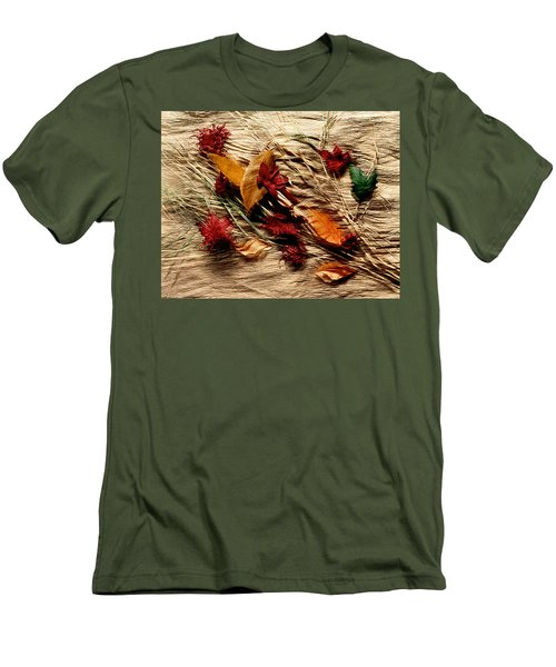 Fall Foliage Still Life Men's T-Shirt (Athletic Fit)