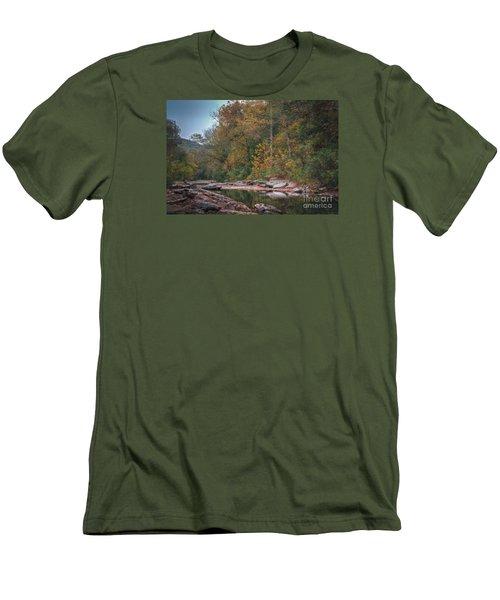 Fall In Arkansas Men's T-Shirt (Athletic Fit)