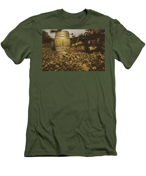 Fall In The Garden Men's T-Shirt (Athletic Fit)
