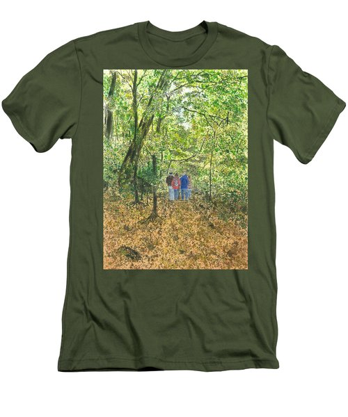 Fall Nymphs - IIi Men's T-Shirt (Slim Fit)
