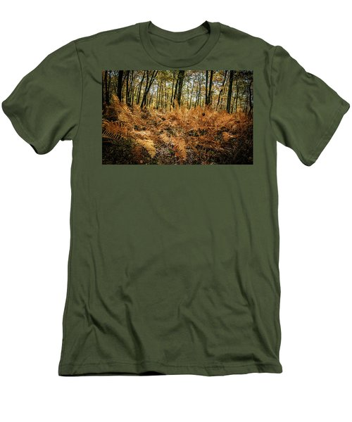 Fall Rust Men's T-Shirt (Athletic Fit)
