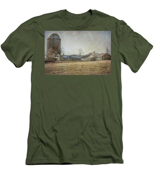 Fallen Barn  Men's T-Shirt (Slim Fit) by Betty Pauwels