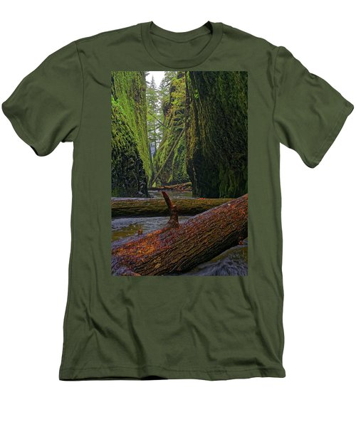 Fallen Men's T-Shirt (Slim Fit) by Jonathan Davison