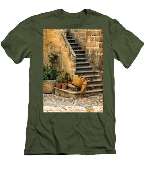 Fallen Chair Men's T-Shirt (Athletic Fit)