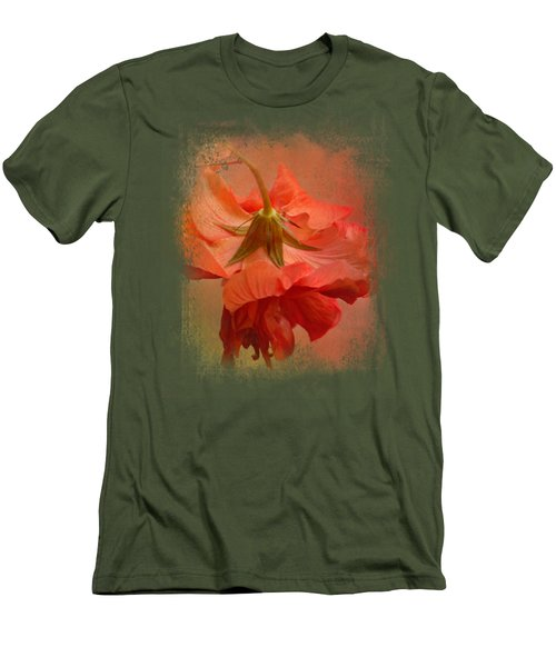 Falling Blossom Men's T-Shirt (Slim Fit) by Jai Johnson