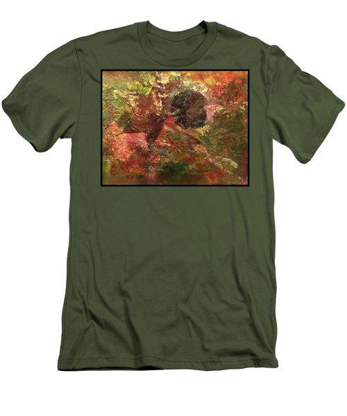Falling In Love  Men's T-Shirt (Slim Fit)