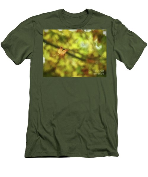 Men's T-Shirt (Athletic Fit) featuring the photograph Falling by Peggy Hughes