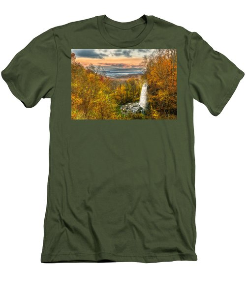 Falling Spring Falls Men's T-Shirt (Athletic Fit)