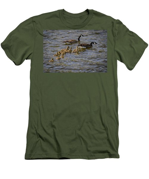 Family Tradition Men's T-Shirt (Slim Fit) by Ray Congrove