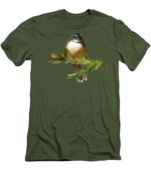 Fantail  Men's T-Shirt (Slim Fit) by Ivana Westin