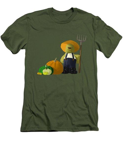 Farm-a-line Men's T-Shirt (Athletic Fit)
