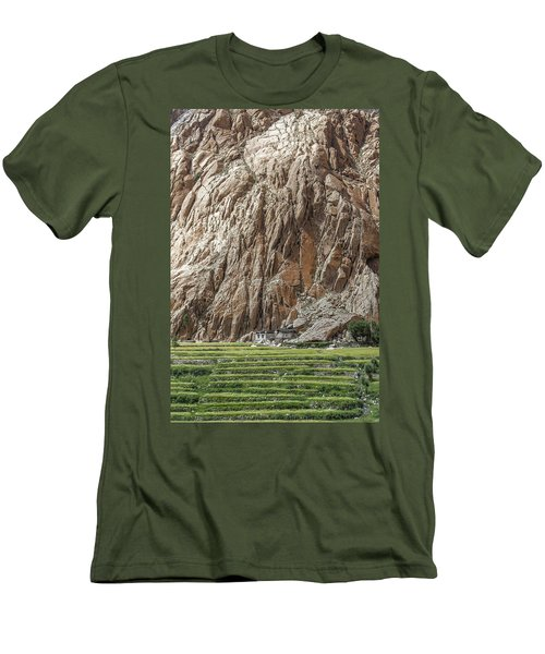 Farm House Men's T-Shirt (Athletic Fit)