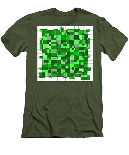 Farmer Green Men's T-Shirt (Slim Fit)