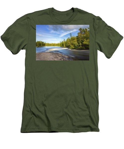 Fast Water Men's T-Shirt (Athletic Fit)