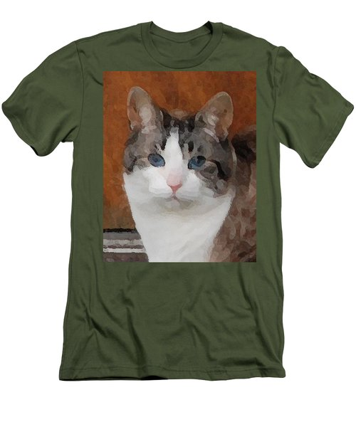 Fat Cats Of Ballard 3 Men's T-Shirt (Athletic Fit)
