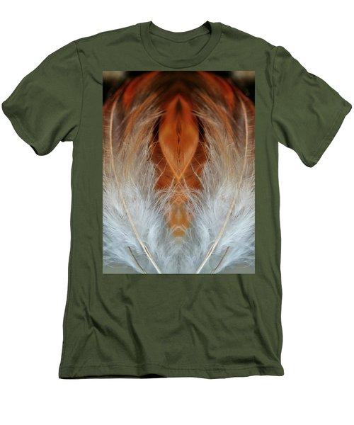 Female Feathers Men's T-Shirt (Athletic Fit)