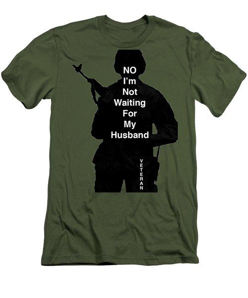 Female Veteran Men's T-Shirt (Athletic Fit)