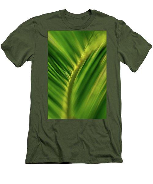 Fern Men's T-Shirt (Slim Fit) by Jay Stockhaus