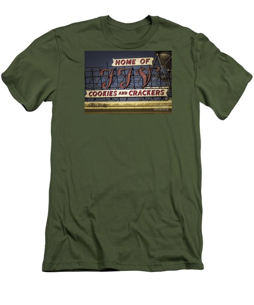 Men's T-Shirt (Slim Fit) featuring the photograph Ffv - Cookie And Cracker Factory by Melissa Messick