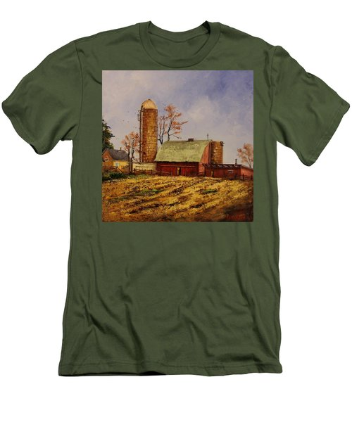 Fields Ready For Fall Men's T-Shirt (Athletic Fit)