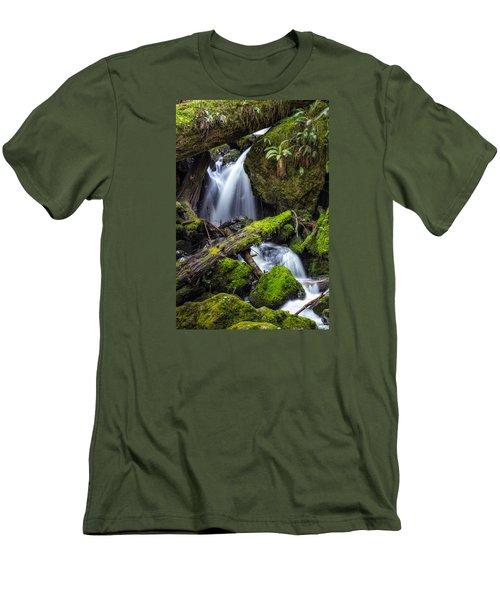 Finds A Way Men's T-Shirt (Slim Fit)