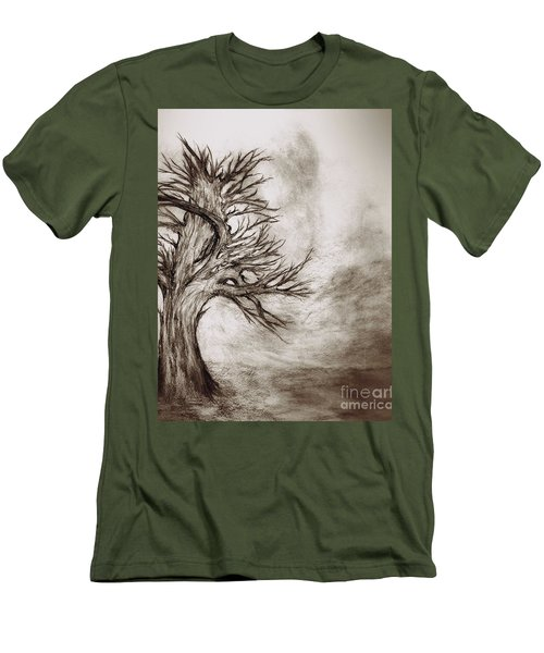 Finis 3 Men's T-Shirt (Slim Fit) by John Krakora