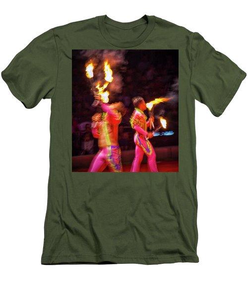 Fire Eaters Men's T-Shirt (Athletic Fit)
