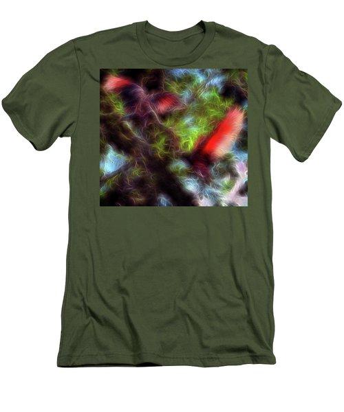 Fire Spirits 5 Men's T-Shirt (Slim Fit) by William Horden