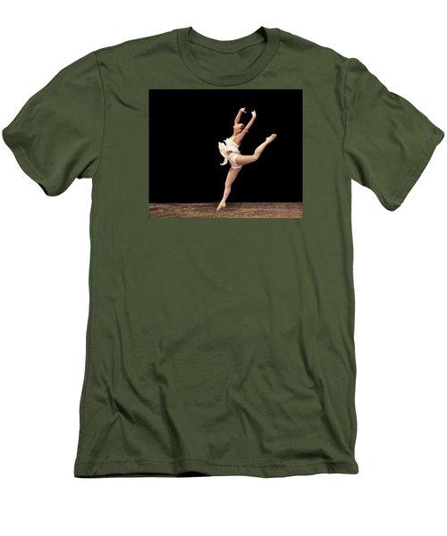 Firebird Ballet Position Men's T-Shirt (Athletic Fit)