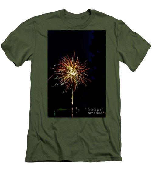 Fireworks Men's T-Shirt (Slim Fit) by William Norton