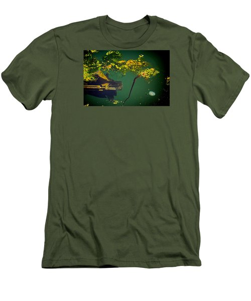 Men's T-Shirt (Slim Fit) featuring the photograph Fish Eye View by Dale Stillman