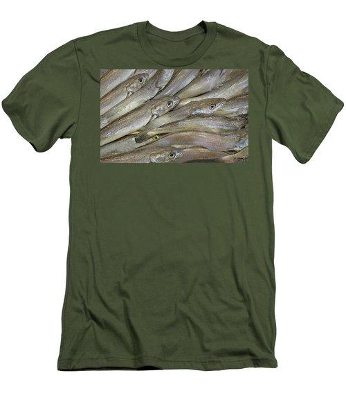 Fish Eyes Men's T-Shirt (Slim Fit) by Joe Bonita