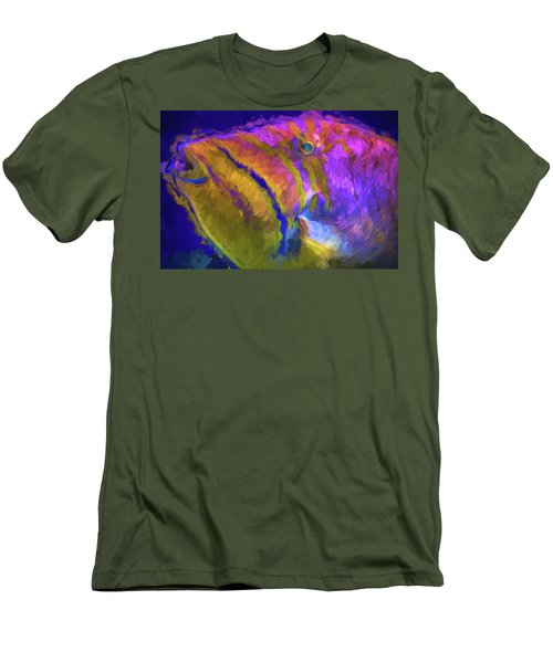 Men's T-Shirt (Slim Fit) featuring the photograph Fish Paint Dory Nemo by David Haskett