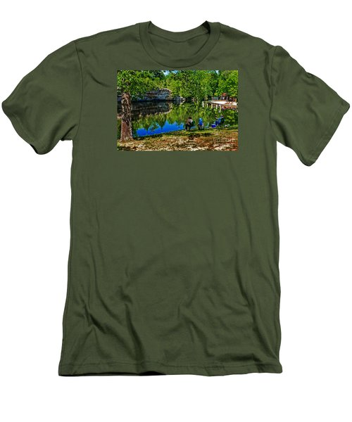 Fishing At Pickett Men's T-Shirt (Athletic Fit)